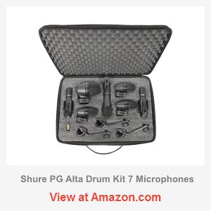 shure pg alta drum kit 7 review pgadrumkit7 microphone geeks. Black Bedroom Furniture Sets. Home Design Ideas