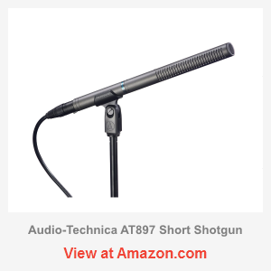 audio technica at897 short shotgun review microphone geeks. Black Bedroom Furniture Sets. Home Design Ideas