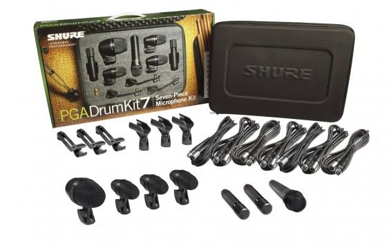 Shure PG Alta Drum Kit 7 Review (PGADRUMKIT7)