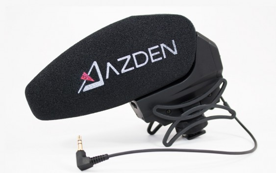 Azden SMX-30: DSLR Shotgun +Stereo mic review